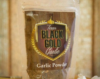 Texas Black Gold Garlic  Powder!