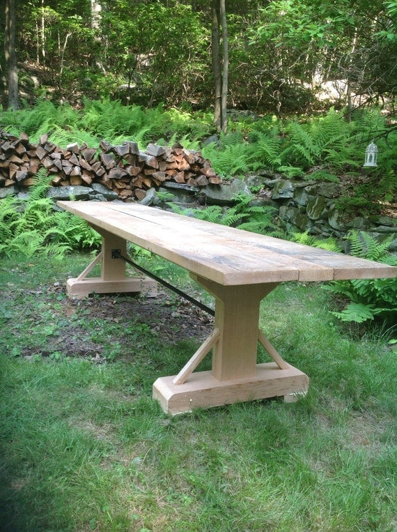12ft long outdoor dining table
