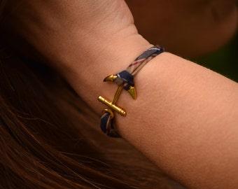 Bracelet marine ink Golden liberty fabrics