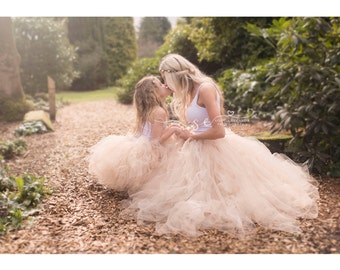 Mummy and me tutu skirts, Extra full tutu skirt, ladies tutu skirt, womens tutu skirt, girls tutu skirt photography prop, photo prop