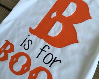 B is for Boo! Halloween shirt
