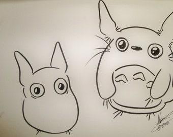 My Neighbor Totoro Drawing