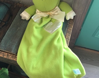 Baby Security Frog Blanket