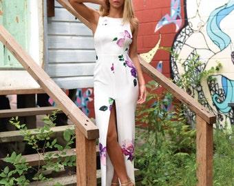 Maxi floreal Dress