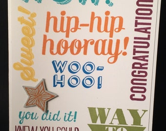 Congratulations Card Graduation Card!