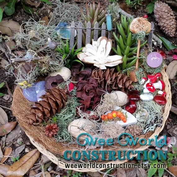 Fairy Garden Accessories, Fairy Garden Kit, Terrarium Kit, Fairy Kits ...