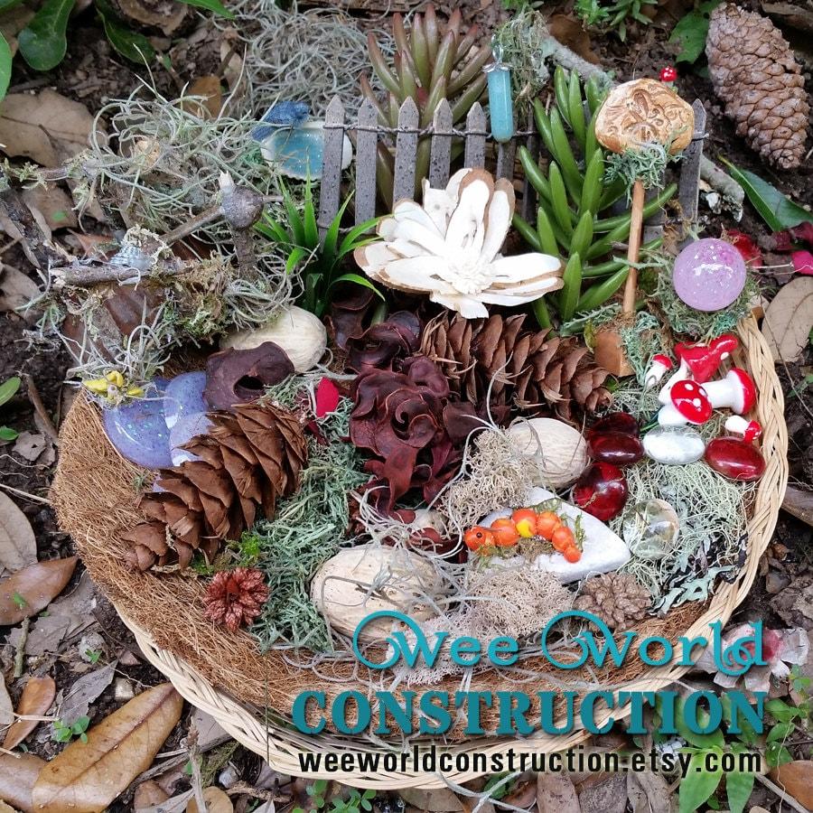 fairy garden accessories fairy garden kit terrarium kit