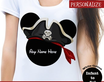 Disney Cruise Pirate Shirt, Disney Pirate Shirt