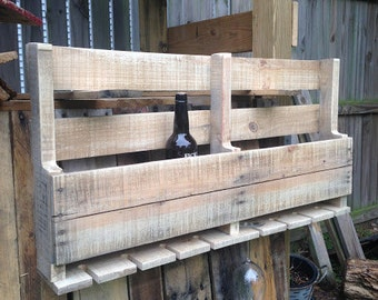 P&P Pallet Wine Rack