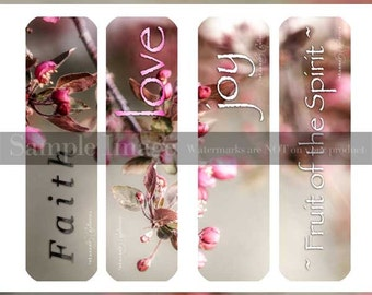 Apple Blossom Series~BOOKMARKS Print Your Own