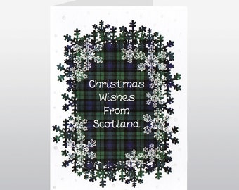 Scottish Christmas Card Christmas Wishes From Scotland WWXM66