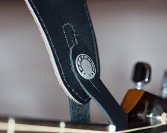Leather Acoustic Strap Button