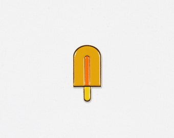 Popsicle Soft Enamel Lapel Pin - Hello Apparel Collaboration