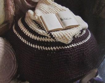 Squashy Crochet Beanbag