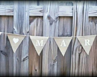 Wedding Banner. Just Married Burlap Banner. Rustic Wedding Decor. Farmhouse Decor. Wedding Gift. Country Wedding Banner. Wedding Signage.