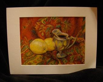 Still Life Oil Pastel