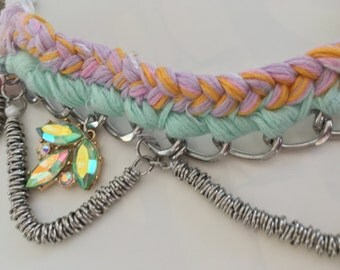 Unicorn Bib Necklace