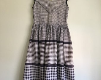 40's Belle of the BBQ Cotton Sundress