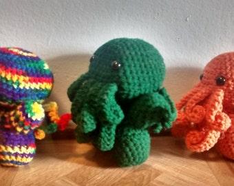 Crochet Cthulhu Chibi