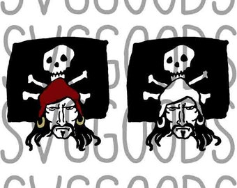 Pirate dxf Jolly Roger dxf Pirate flag dxf - Great nautical dxf, summer dxf perfect for a birthday dxf, beach dxf, Vinyl, or paper cut file.