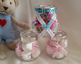 Christening, Baby blue Boy favours