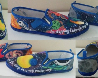 Galaxy Shoes- Men's