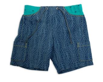 Art Unisex Jeans Pocket Shorts