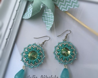 "Earrings ""Summer of"