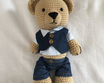 Little Joe Crochet Bear