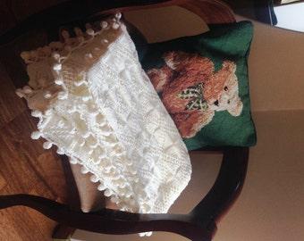 Baby blanket Knit baby blanket knit Blanket Newborn gift