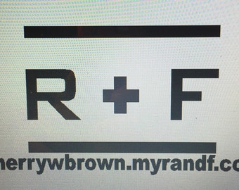 Personalized Rodan and Fields Decals (Standard Size: 6 x 8)