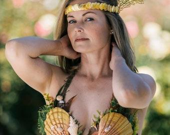 Custom Mermaid Shell Top