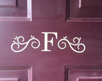 Personalized Front Door Vinyl Decal