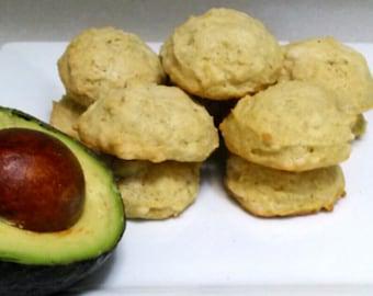 Shortbread Advocado Cookies