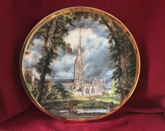 English Fine China Salisbury Cathedral by John Constable