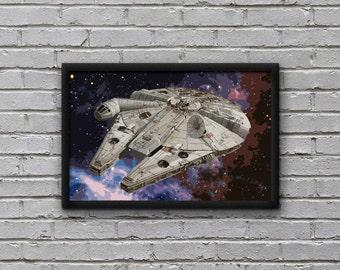 Millennium Falcon - Star Wars Print