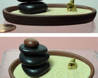 Zen Garden, Zen Rake, Miniature Zen Garden, Tabletop Zen, Sand Art, Zen Accessory, Meditation, Mini Zen, Karesansui (枯山水)