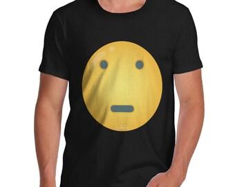 Men's Dead Pan Emoji T-Shirt