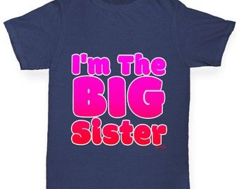 Girl's I'm The Big Sister T-Shirt