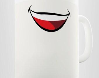 Funny Laughing Smile Ceramic Mug