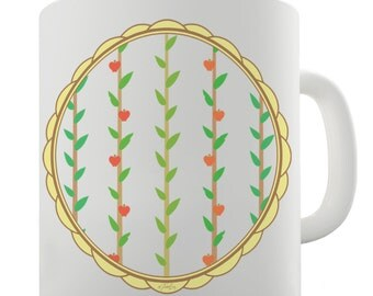 Apple On Braches Ceramic Novelty Mug