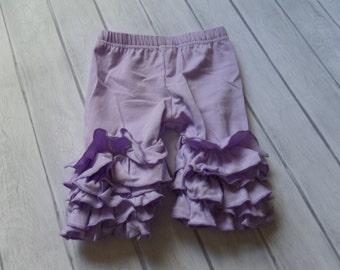 12/18m: Lavender full ruffle Shorties