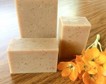 Woodland Nature Soap - Oatmeal, Milk & Honey