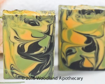 Luxury Artisan Soap - Sweet Orange Patchouli
