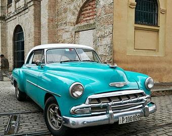 Havana Blue Car