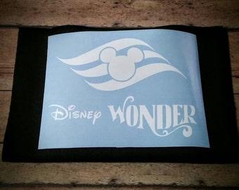 Vinyl Cruise Decal (Disney Wonder)