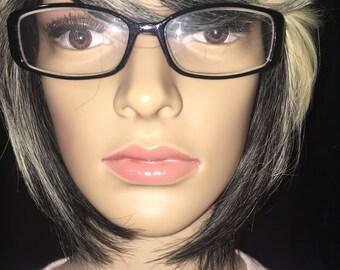 Vintage Black Frames Eyewear Glasses (Prescription)