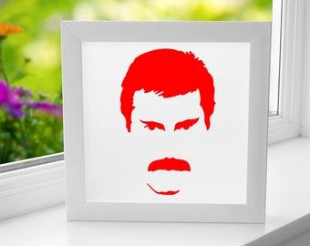 BoxFace - Freddie Mercury
