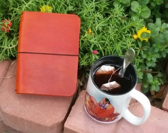 Field Notebook, Crisdori Studios, Travelers Notebook, Leather Fauxdori, Travelers Notebook, Field Notes