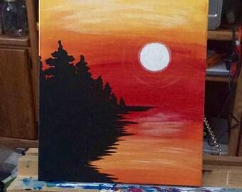 Coastline Sunset